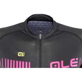 Alé Cycling Graphics PRR Strada Shortsleeve Jersey Damen black-fluo pink-white